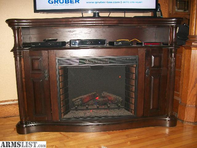 Armslist For Trade Large Electric Fireplace Tv Stand To Trade For Gun