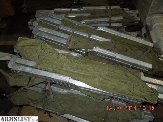 ARMSLIST - For Sale/Trade: Military Surplus Army Folding Cots