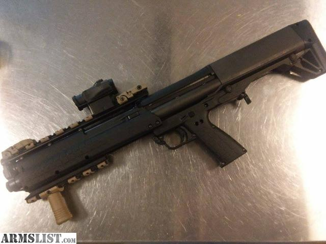 ARMSLIST - For Sale/Trade: Custom Keltec KSG with lots of ...