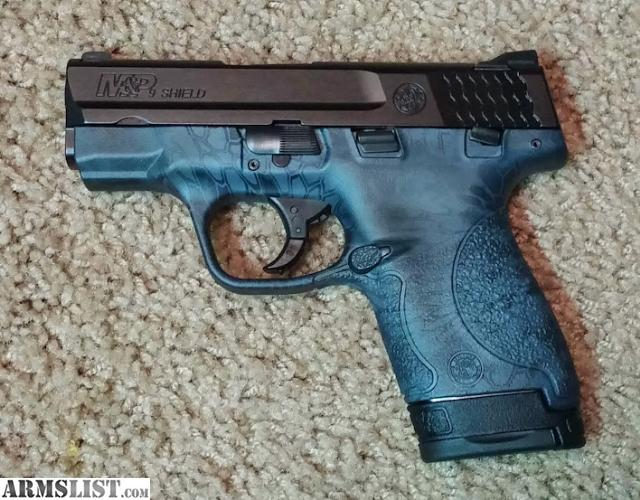 Smith Wesson Mp 9 Shield. Kryptek Finish. 2 Mags. - 10170