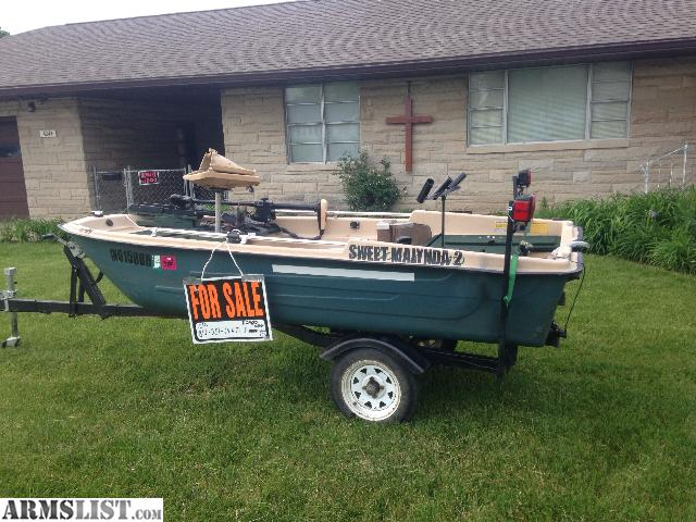 Armslist for sale nice 2 man bass boat for Nice fishing boats