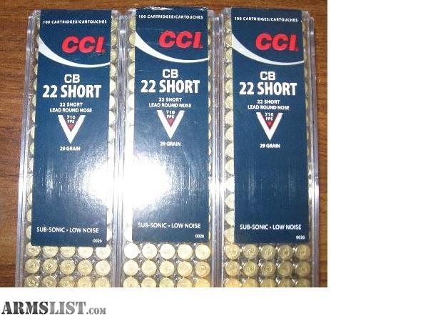 Armslist for sale 22 22 short lead nose round 300 rounds for Short sale leads