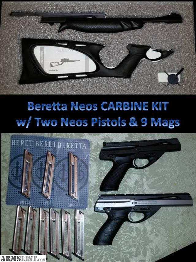 Neos Carbine Kit Beretta Neos Carbine Kit