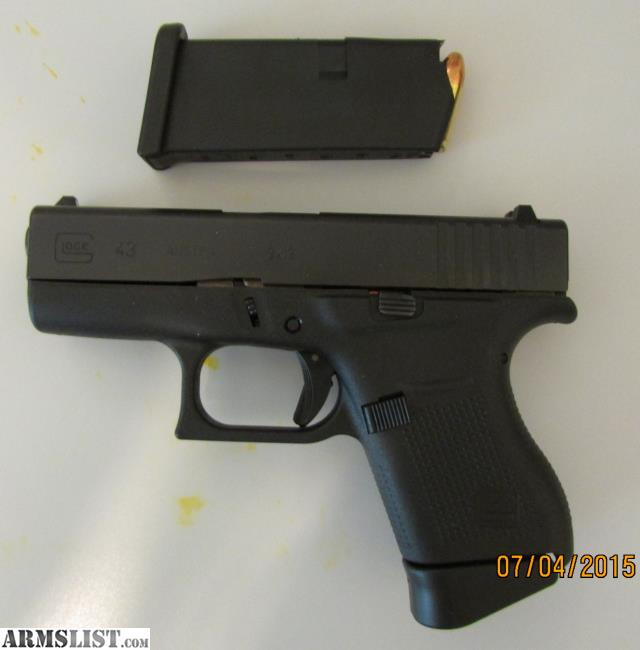 armslist   for sale glock 43