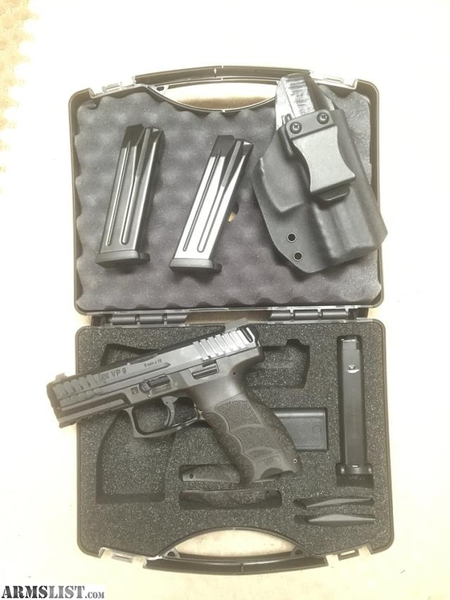 Fotos armslist for sale hk vp9 le model with night sights and 3 mags