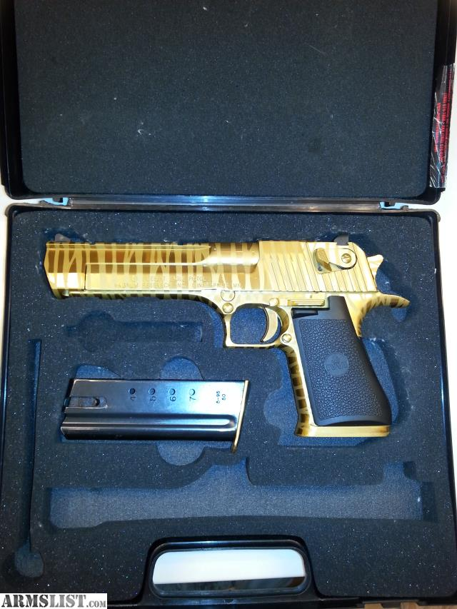 Desert Eagle Gold Tiger Stripe 50 Cal Price