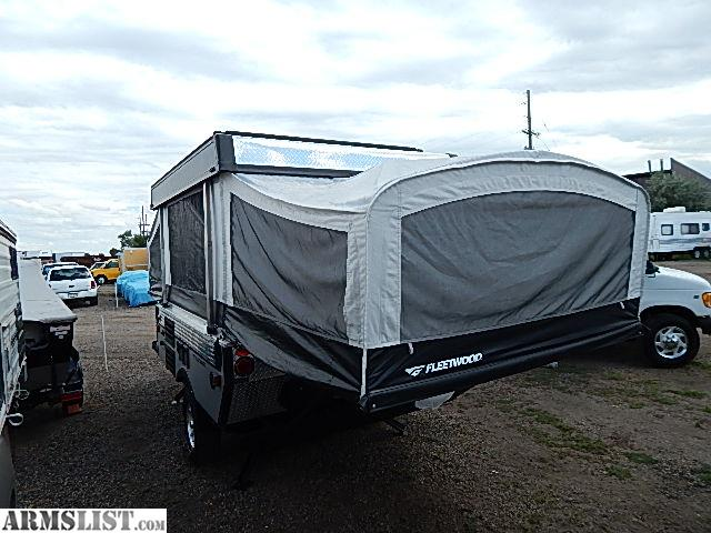 Armslist For Sale 2007 Fleetwood Pop Up Camper With Off