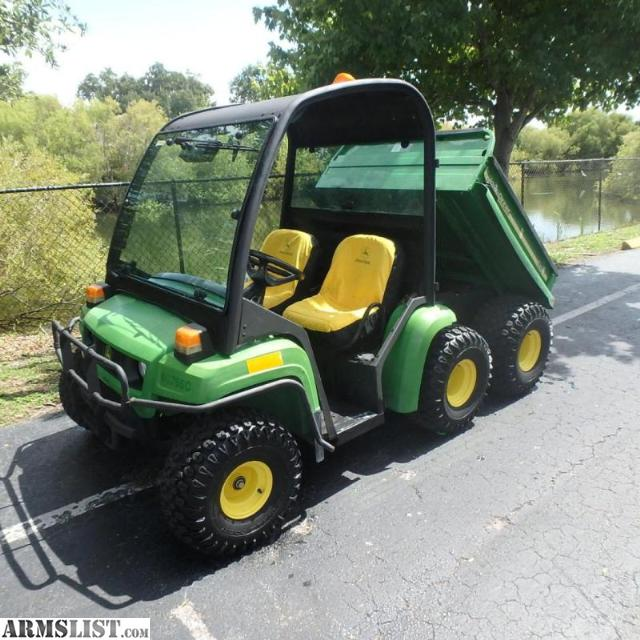 armslist for sale 2006 john deere gator th 6x4. Black Bedroom Furniture Sets. Home Design Ideas