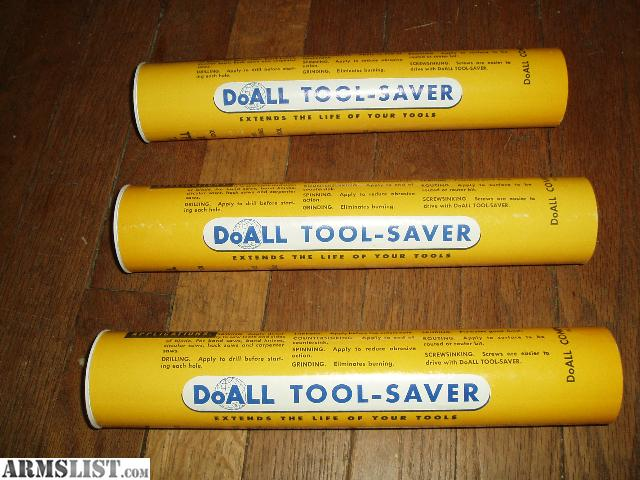 Armslist For Sale Doall Tool Saver Lubricant Compound