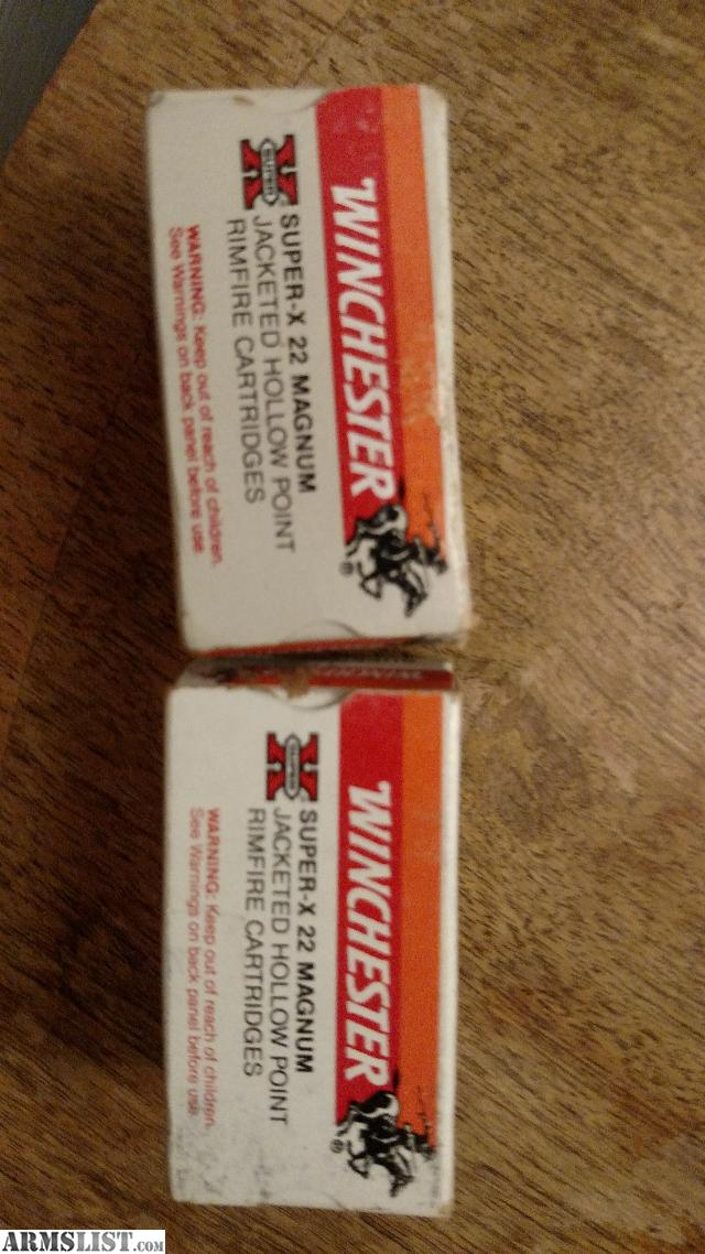 Armslist for sale various 22 mag ammo