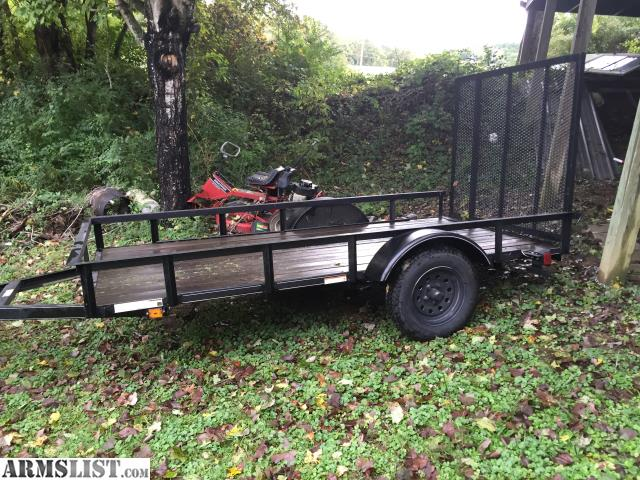 Armslist for sale trade 5x10 trailer for 5x10 wood floor trailer