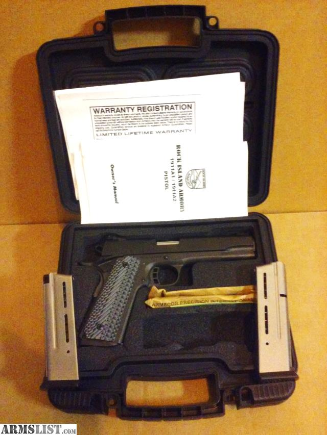 Rock Island Armory M A Fs Tactical Mm