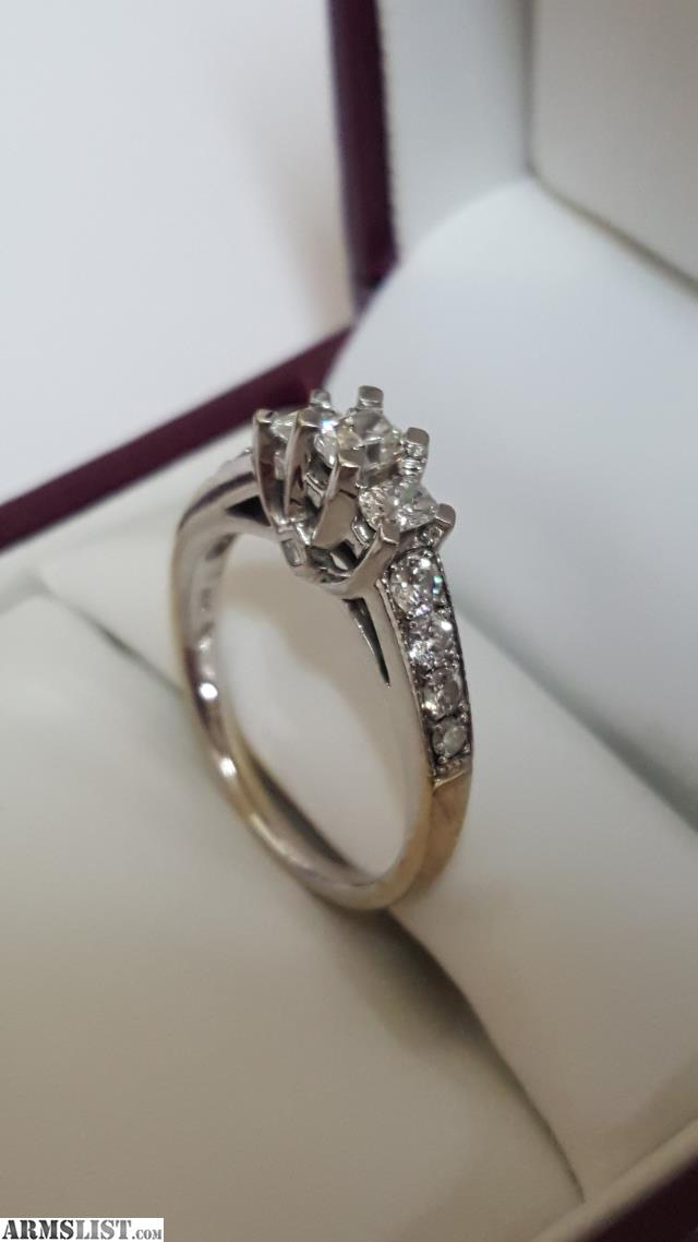 ARMSLIST For Sale Trade 1kt diamond engagement ring 14kt white gold
