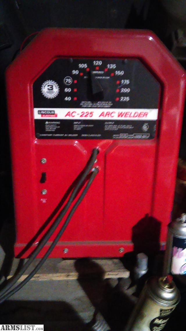 Armslist  Trade  Lincoln Electronic Ac 225 Amp