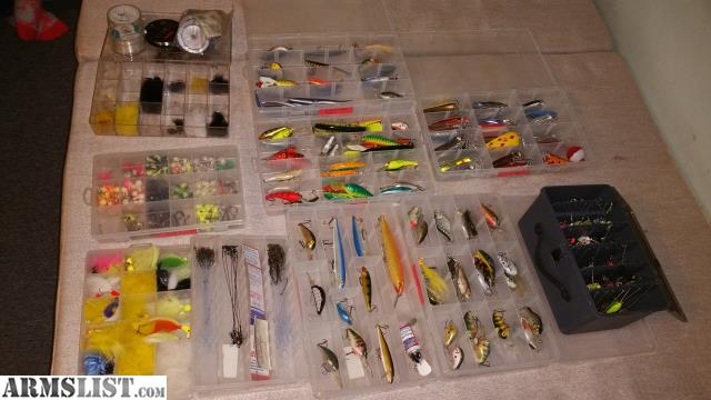Armslist for sale trade misc fishing stuff for Fishing stuff for sale