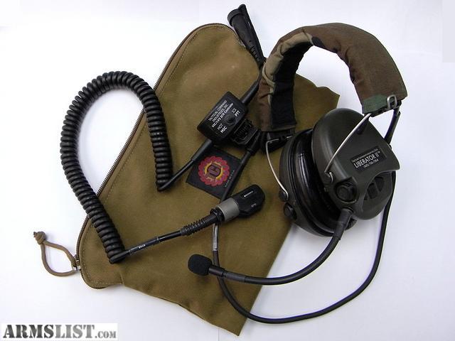 ARMSLIST - For Sale/Trade: TCI Liberator II Headset Brand ...