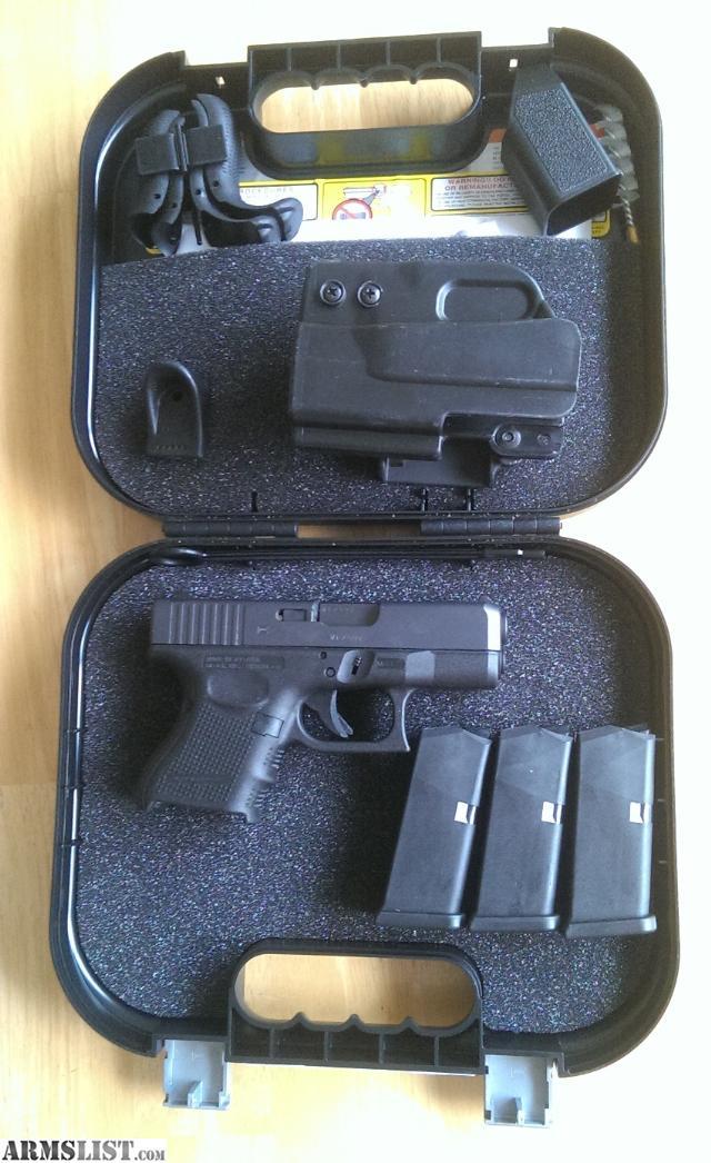 It is a graphic of Smart Glock 19 Gen 4 Blue Label Price